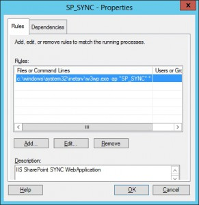 WSRM SharePoint SYNC Web Application