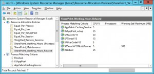 WSRM SharePoint Working Hours Relaxed
