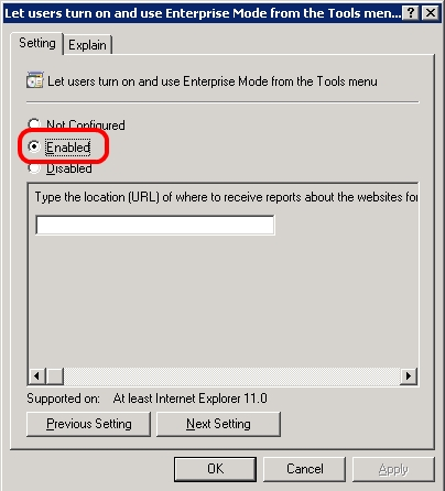 How you should configure IE 11 to run well with your